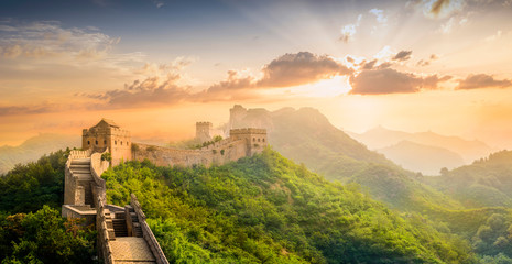 The Great Wall of China. Fototapete
