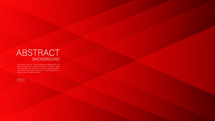 Red abstract background, Geometric vector, graphic, Minimal Texture, cover design, flyer template, banner, web page, book cover, advertisement, printing template, decoration wallpaper.