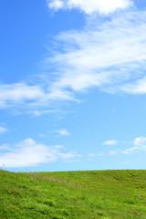 青空と草原/沖縄県