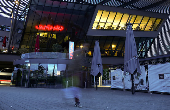 A restaurant of the German franchise company Vapiano is pictured in Munich