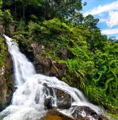 Datanla Waterfalls in Da Lat, Vietnam