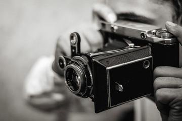 The retro photocamera