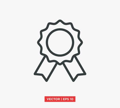 Award Medal Icon Vector Illustration