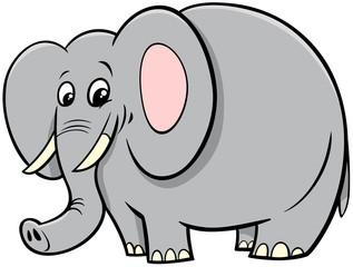 African elephant animal cartoon character