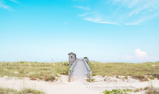 Outer Banks North Carolina Beach Dune Path