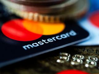 Kiev, Ukraine, July 2, 2019. clouse up of Mastercard