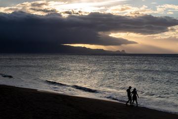 Breathtaking Sunset Views from Maui, Hawaii