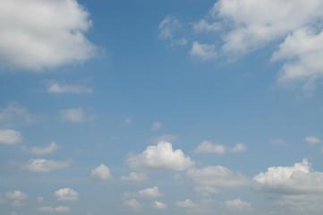 Foto op Plexiglas Hemel 空と雲