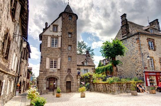 Salers, Cantal, France