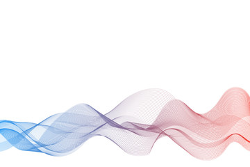 flowing lines abstract background