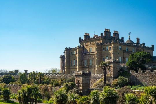 Culzean Castle and Gardens in Ayrshire Scotland
