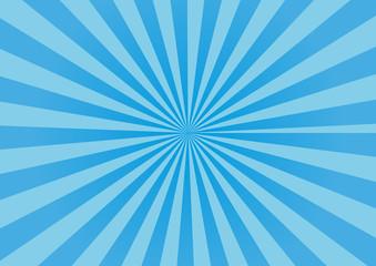 放射状 背景 素材 青 ブルー