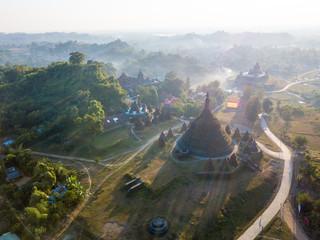 Beautiful Rakhine State, Mrauk U, Myanmar.