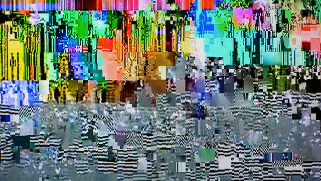 Color tv weak signal (16:9 aspect ratio)