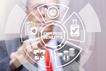 Employee Benefits Business concept.