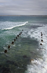remains of a dock - St. Ives - Cornwall
