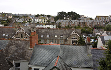 rooftops of St. Ives - Cornwall - UK