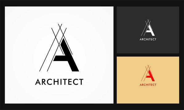 a architect vector logo