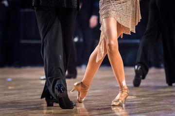 couple dancing latin dance