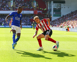 2019 Premier League Football Sheffield Utd v Leicester Aug 24th