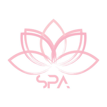 abstract spa label