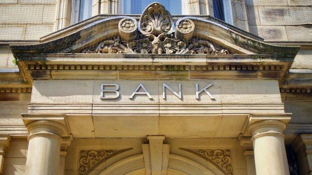 Vintage Bank Sign