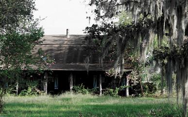 Creepy abandon house