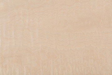 Zelfklevend Fotobehang Marmer New light beige maple veneer background as part of your design.