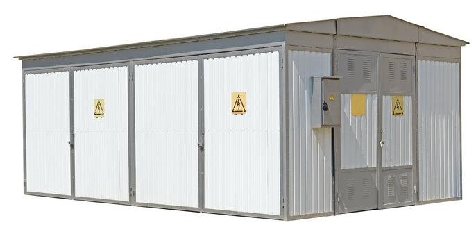 building transformer substation