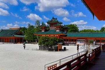 Foto op Aluminium Xian Heian Jingu Shrine, Kyoto, Japan