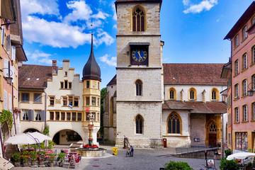 Obraz Biel/Bienne Switzerland - fototapety do salonu