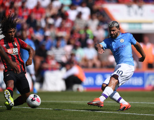 2019 Premier League Football Bournemouth v Manchester City Aug 25th