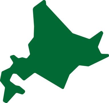 北海道アイコンイラスト