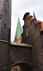 townhall - detailed view - Luebeck -