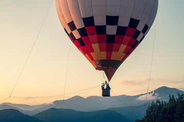 Türaufkleber Ballon hot air balloon