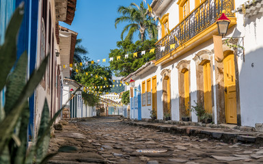 Historical centre of Paraty in Brazil