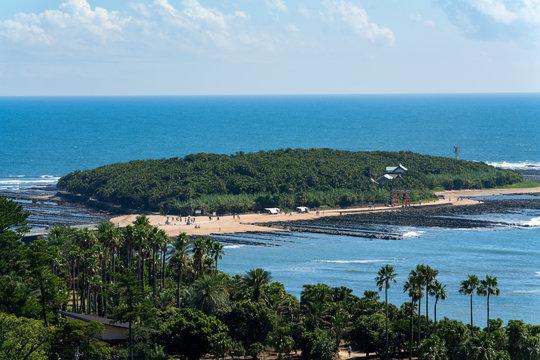 [宮崎県]青島海岸の風景
