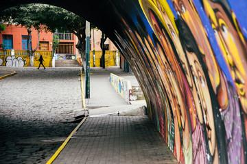 Bridge of Sighs in Lima, Peru