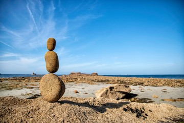 Photo sur Plexiglas Zen pierres a sable Another planet
