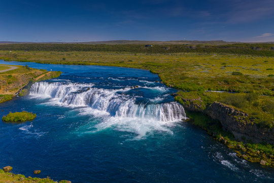 Faxi Waterfalls in Iceland