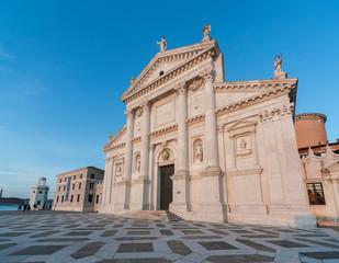 Fototapete - Historical landmark San Giorgio Maggiore Church in Venice, Italy, Europe