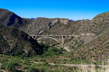 Pinto Creek Bridge along the Gila-Pinal Scenic Road, Arizona