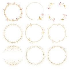 dandelion golden doodle wreath frame collection