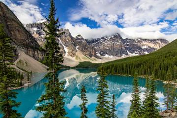 カナダ モレーン湖 Fototapete