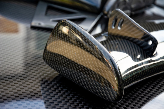 Carbon fiber composite product for motor sport and automotive racing