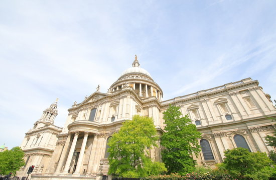 St Paul's cathedral London UK