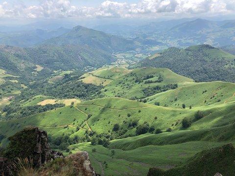 Crête d'Iparla Pays Basque France