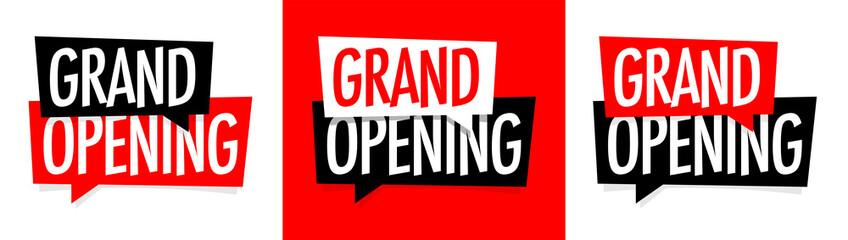 Grand opening Papier Peint