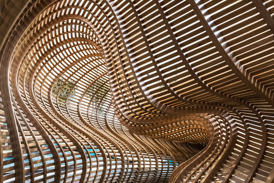 Modern architectural structure