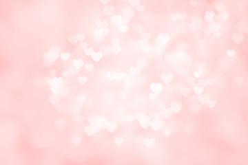 Heart valentine light pink background.